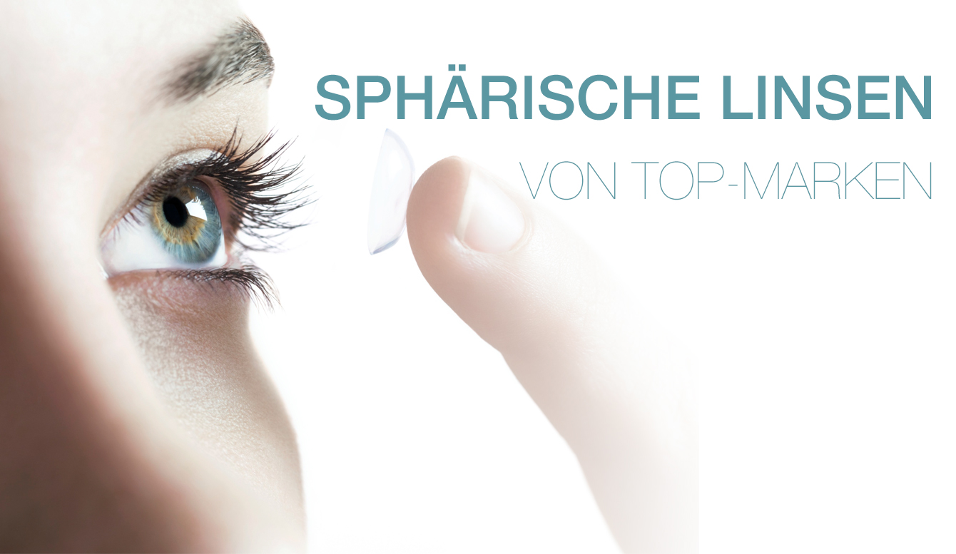 sphärische Kontaktlinsen