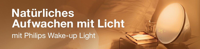 Entdecken Sie die natürliche Wirkung des Lichts mit Wake Up und Energy Lights von Philips
