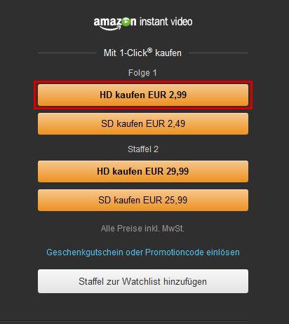 Was ist Amazon Instant Video?