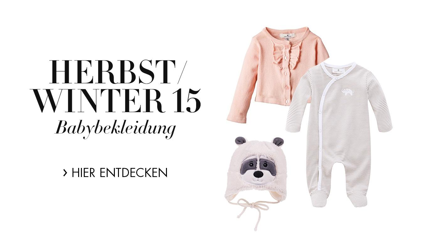 Neue Herbst-/Winter-Kollektion 2015/2016