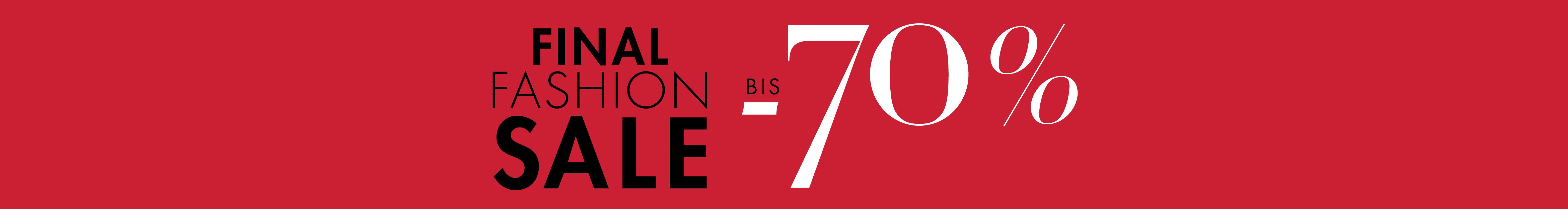 Amazon Final Fashion Sale bis -70%