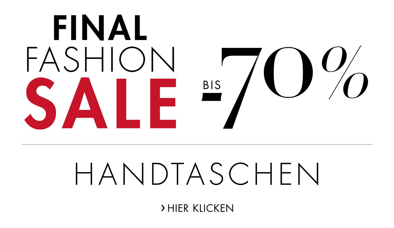 Final Sale: bis -70% auf Handtaschen