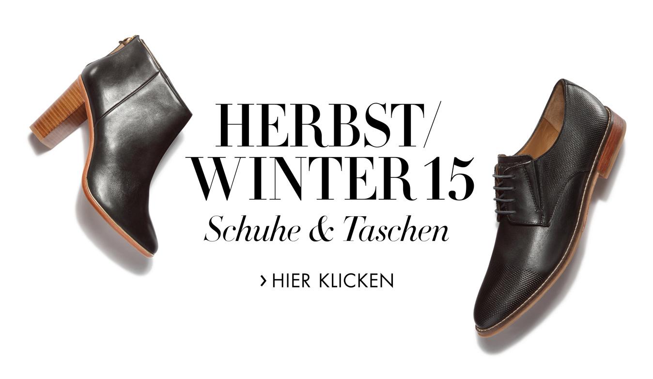 Herbst/Winter 15 Schuhe & Taschen