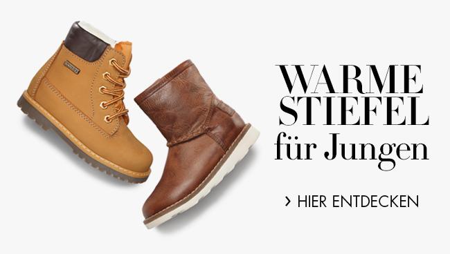 Warme Stiefel für Jungen