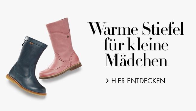 Warme Stiefel für Mädchen