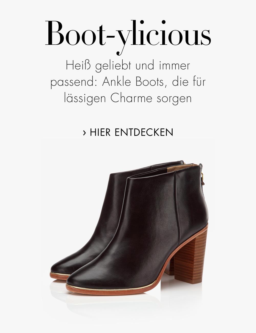 Mittelhohe Ankle Boots
