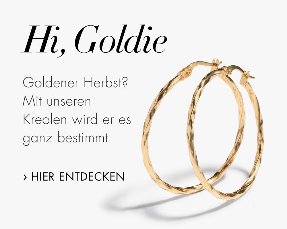 Goldene Kreolen