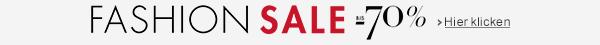 Fashion Sale bis -50% auf Bekleidung, Schuhe, Handtaschen und mehr