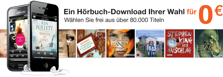 1 H&#246;rbuch gratis herunterladen