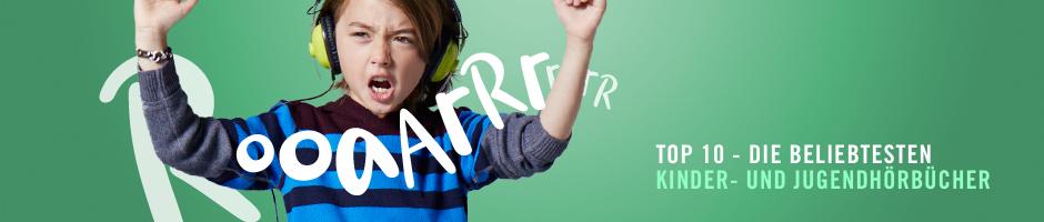 Top 10 - Die beliebtesten Kinder- und Jugend-Hörbücher