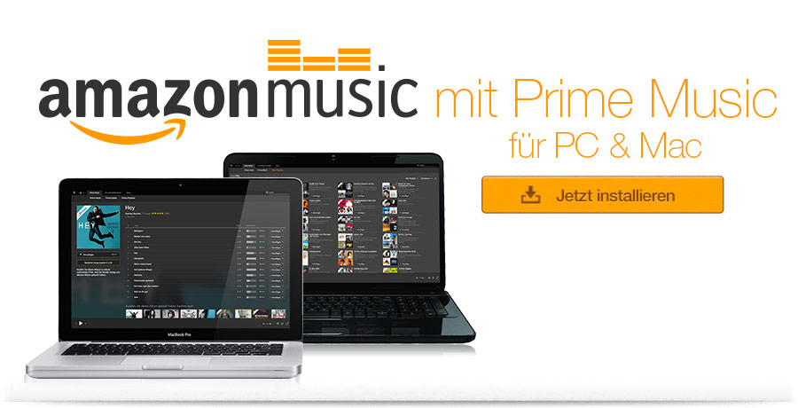 Amazon Music f�r PC und Mac