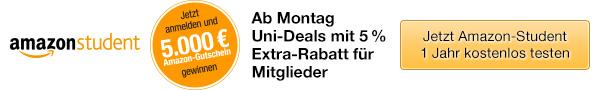 Uni-Deals f�r Amazon Student-Mitglieder