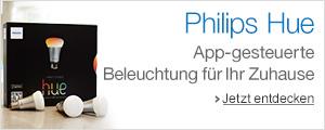 Philips hue: App-gesteuerte Beleuchtung f�r Ihr Zuhause