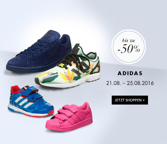 adidas bis zu 50% reduziert bei Amazon BuyVIP
