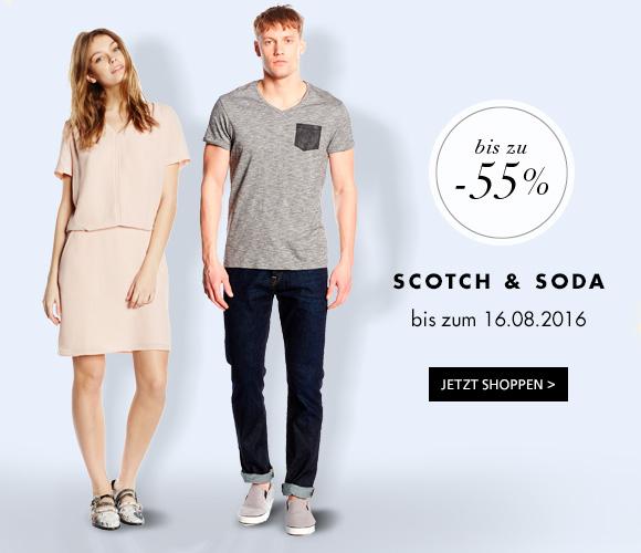 Scotch & Soda bis zu 55% reduziert bei Amazon BuyVIP
