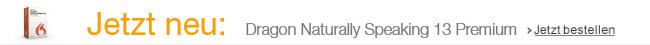 Jetzt erhältlich: Dragon NaturallySpeaking 13