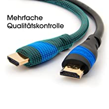 kabeldirekt; hdmi kabel; hdmi 2.0; 4K; hdmi 3d; 1.4a; hdmi; 1080p; qualitätskontrolle;
