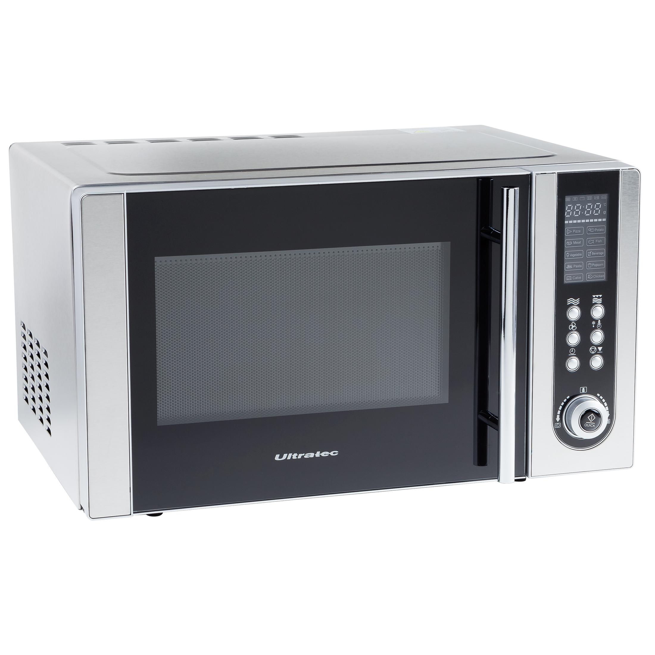 ultratec mikrowelle mwg500 mit grill und umluft 800 1200. Black Bedroom Furniture Sets. Home Design Ideas