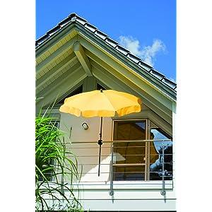 schneider schirmhalter foxi f r sonnenschirme f r balkon. Black Bedroom Furniture Sets. Home Design Ideas