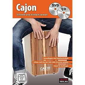 Cajon - Schnell und einfach lernen (mit CD und DVD)