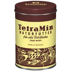 TetraMin - der Klassiker unter den Fertigflockenfuttern für Zierfische