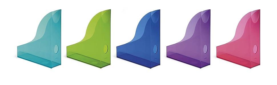 durable basic zeitschriftensammler kunststoff mit. Black Bedroom Furniture Sets. Home Design Ideas
