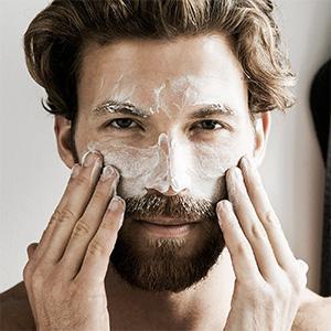 Gesichtsreinigung für normale Haut