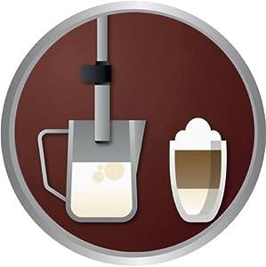 philips hd8651 01 kaffeevollautomat dampfd se 15 bar dampfd se schwarz neu. Black Bedroom Furniture Sets. Home Design Ideas