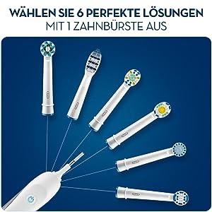 Braun Oral-B Aufsteckbürsten Precision Clean 7er+1