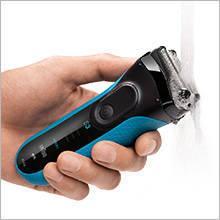 Braun 3040s Series 3 - elektrischer Rasierer Wet and Dry 100 % abwaschbar