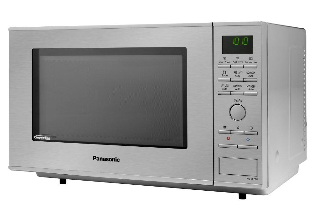 panasonic nn cf771sepg mikrowelle 27 l 1000 w edelstahl inverter technologie grill1. Black Bedroom Furniture Sets. Home Design Ideas