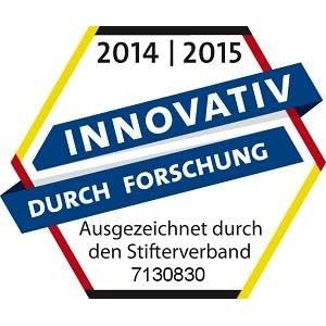 Tetra ist innovativ durch Forschung - ausgezeichnet durch den deutschen Stifterverband