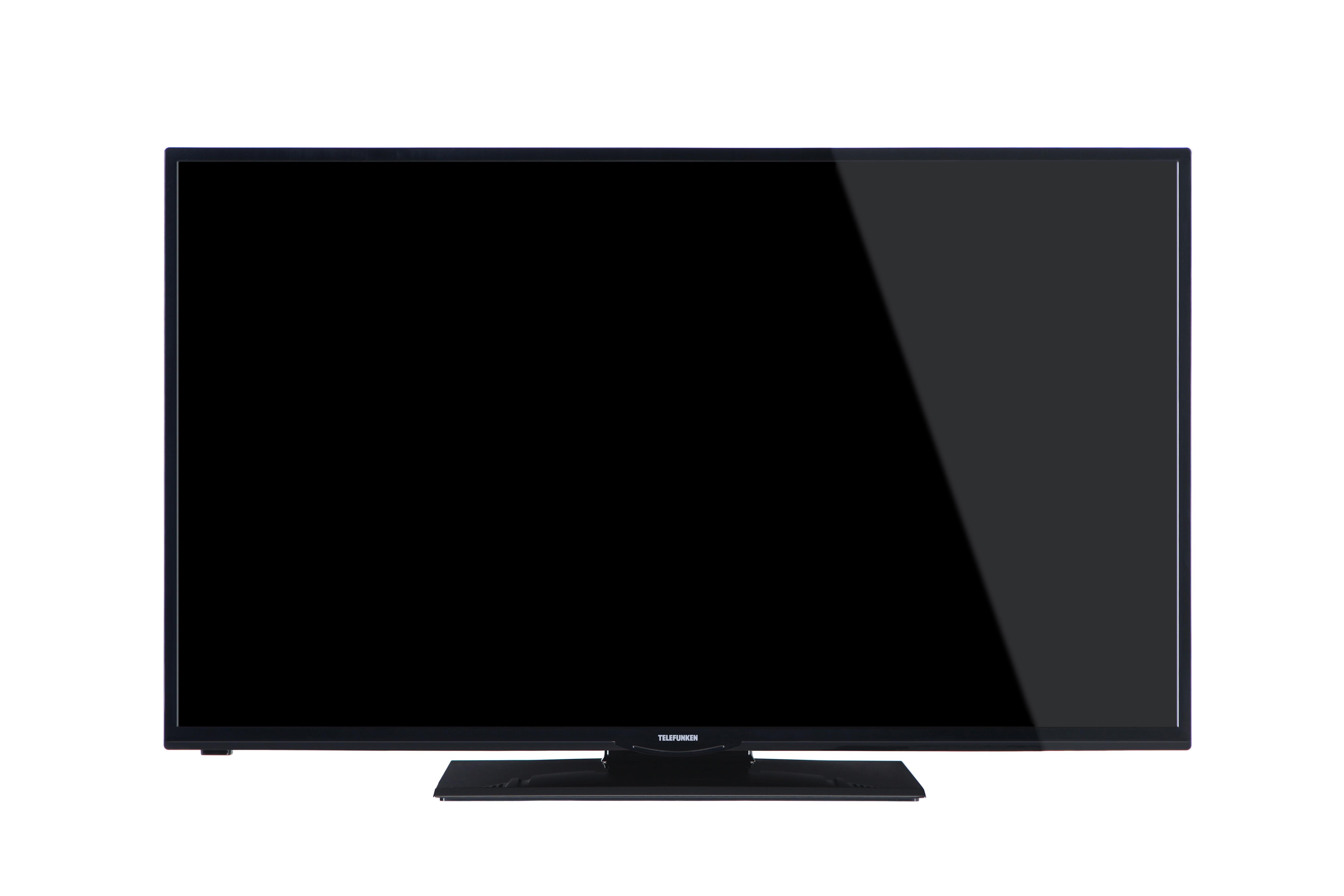 telefunken xf39a300 99 cm 39 zoll fernseher full hd triple tuner smart tv schwarz amazon. Black Bedroom Furniture Sets. Home Design Ideas