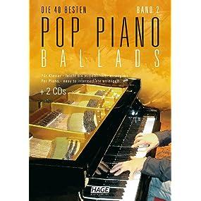 Pop Piano Ballads 2 (mit 2 CDs)
