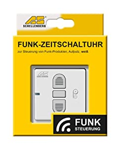 schellenberg funk zeitschaltuhr wei 20031. Black Bedroom Furniture Sets. Home Design Ideas