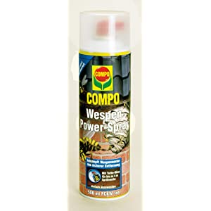 compo 1733502 wespen power spray 500 ml garten. Black Bedroom Furniture Sets. Home Design Ideas