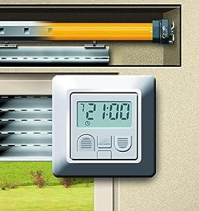 schellenberg rollopower 25557 timer plus original neu ovp ebay. Black Bedroom Furniture Sets. Home Design Ideas