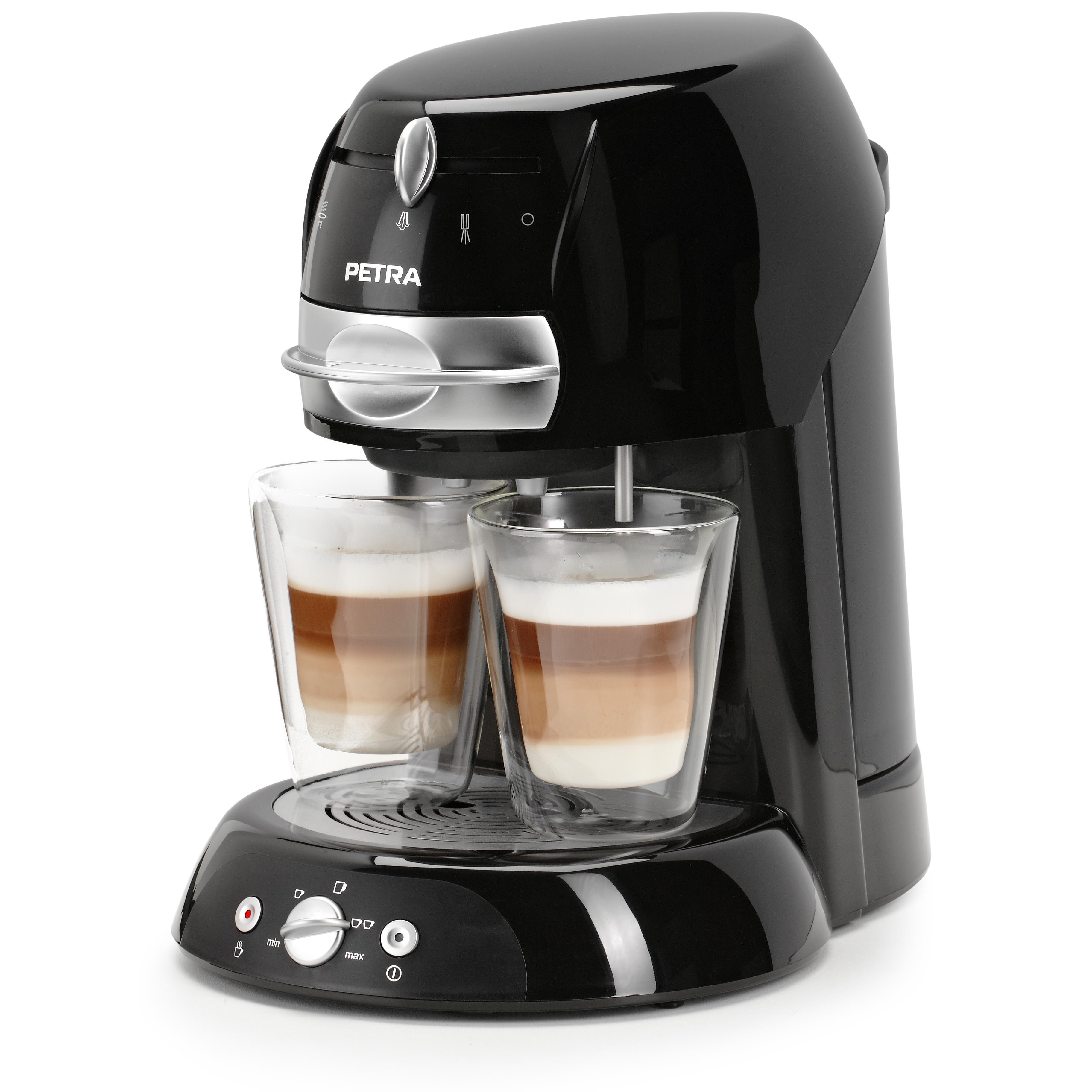 petra electric km kaffeepadmaschine artenso latte mit milchaufsch umer ebay. Black Bedroom Furniture Sets. Home Design Ideas