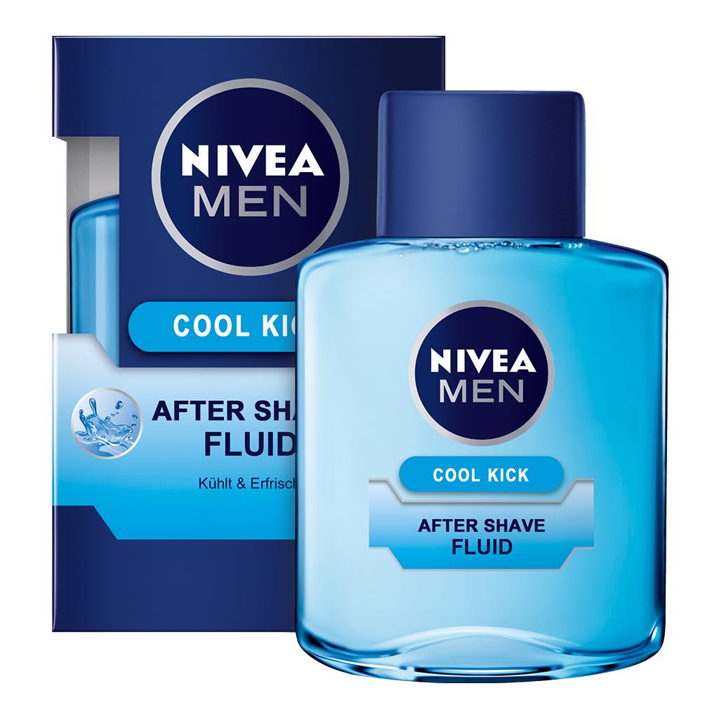 nivea men cool kick after shave fluid 100 ml. Black Bedroom Furniture Sets. Home Design Ideas