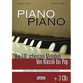 Piano Piano 1 (mit 3 CDs) - mittelschwer arrangiert