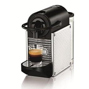 delonghi en 125 m nespresso pixie steel kapselmaschine. Black Bedroom Furniture Sets. Home Design Ideas