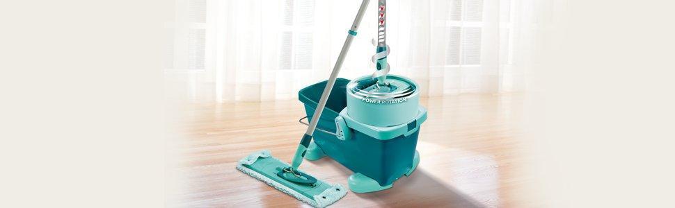 leifheit 52050 set clean twist m bodenwischer inkl rollwagen ebay. Black Bedroom Furniture Sets. Home Design Ideas