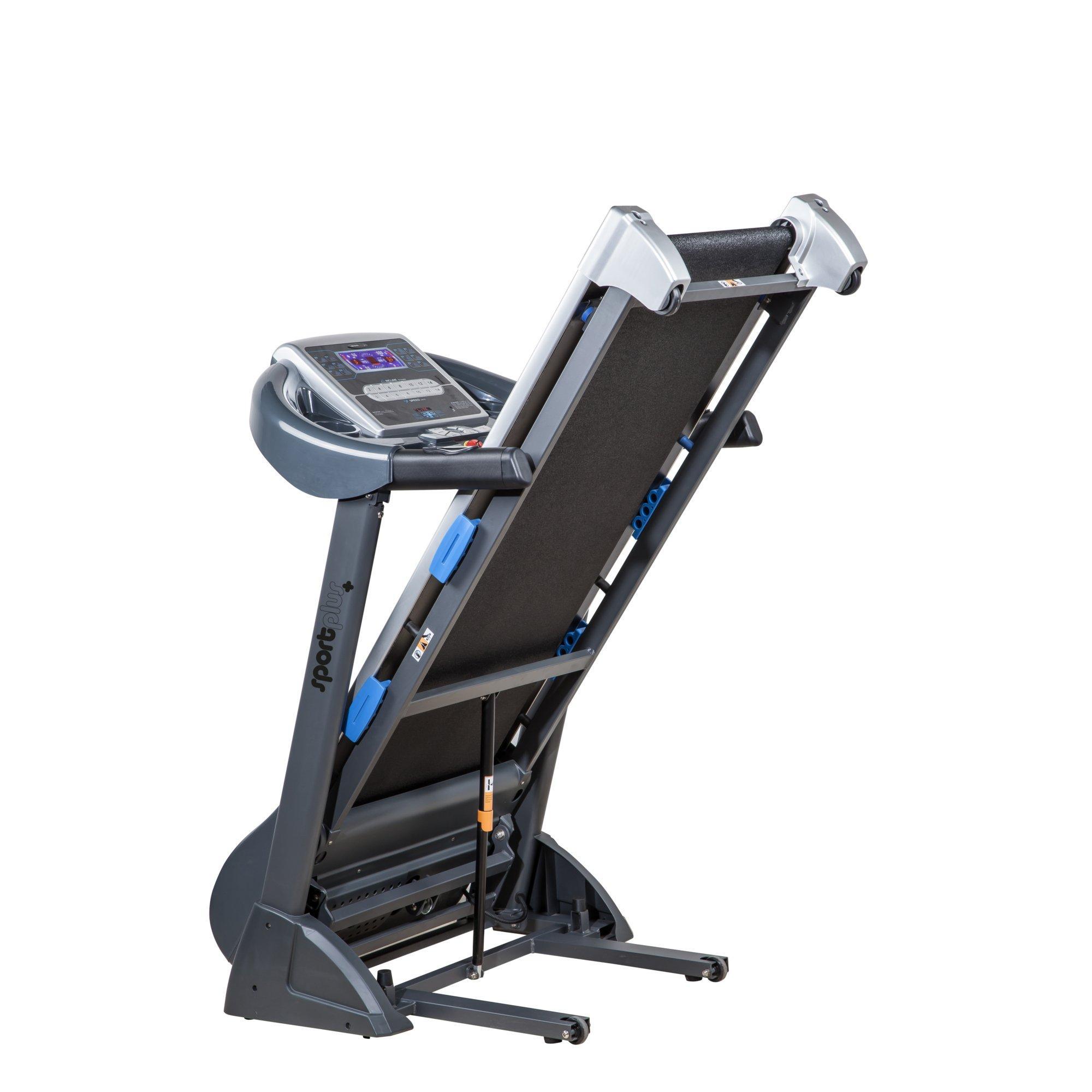 sportplus 20 km h laufband mit motorisierter steigungsverstellung bis 16 ebay. Black Bedroom Furniture Sets. Home Design Ideas