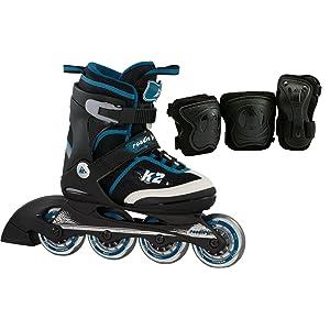 K2 Jungen Inline Skate Roadie Junior Pack Boys