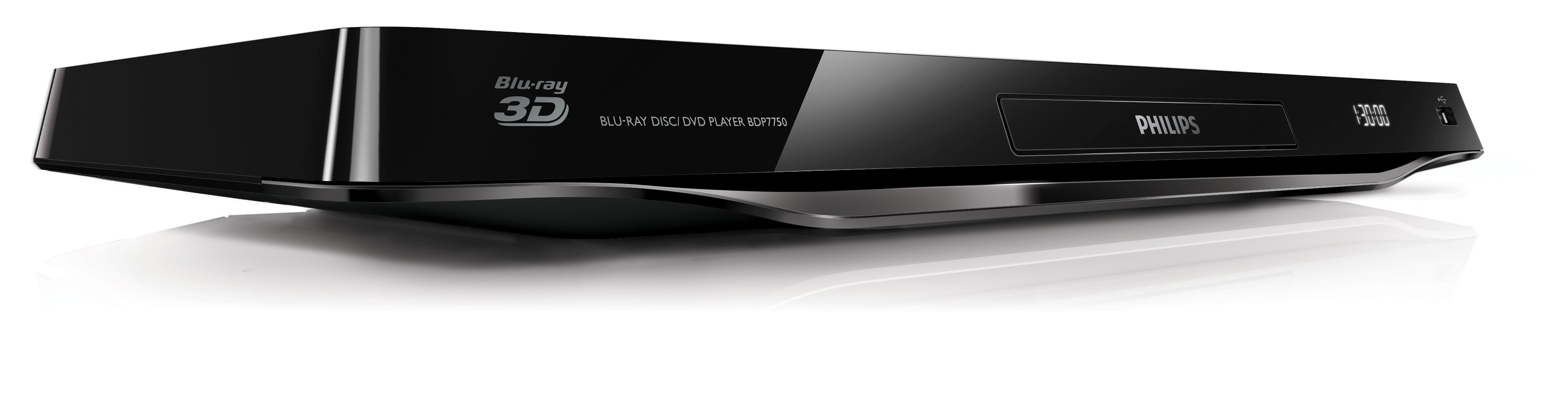philips bdp7750 12 3d blu ray player mit 4k ultra hd skalierung wifi smart tv miracast. Black Bedroom Furniture Sets. Home Design Ideas