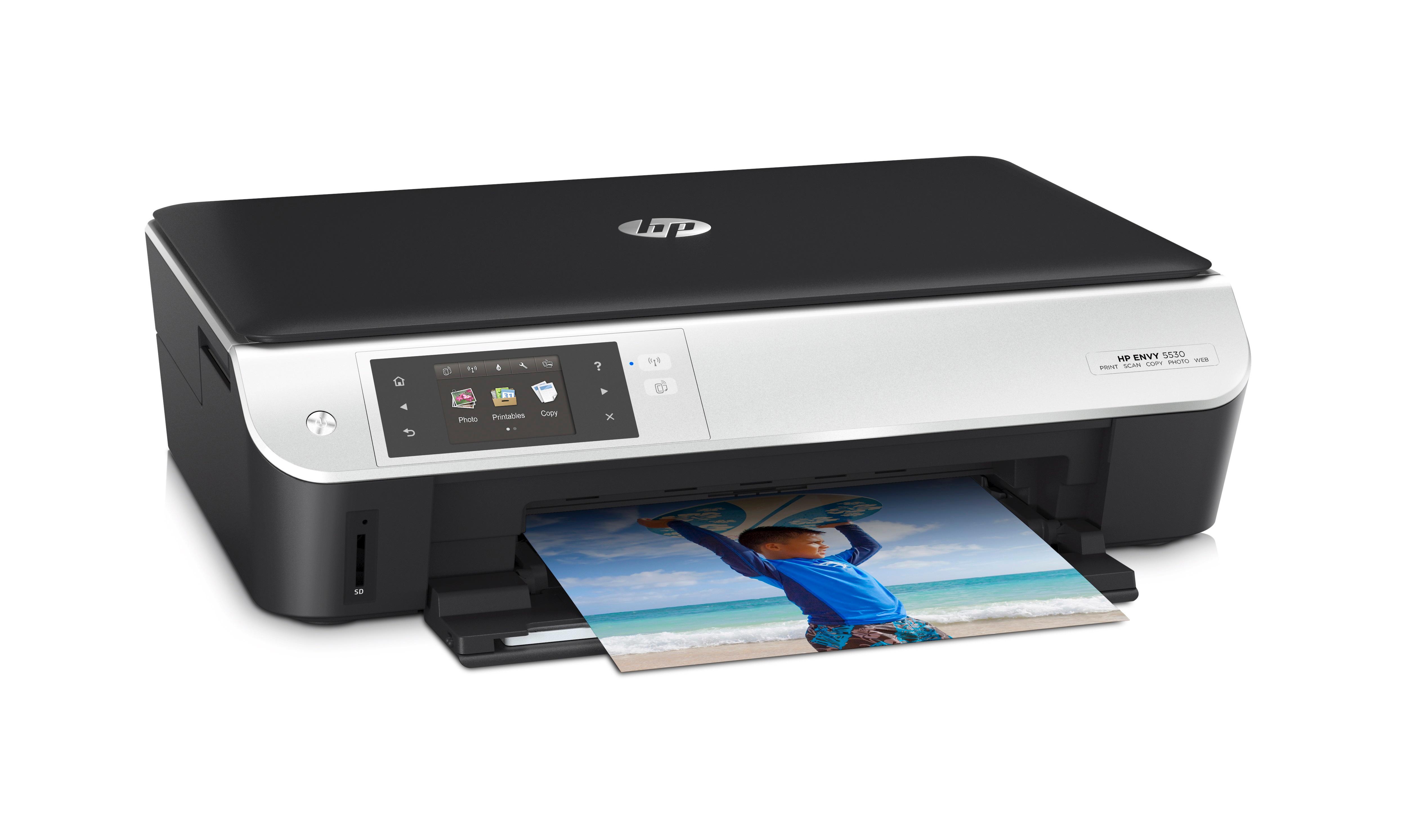 Hp envy 5530 all in one multifunktionsdrucker schwarz amazon de