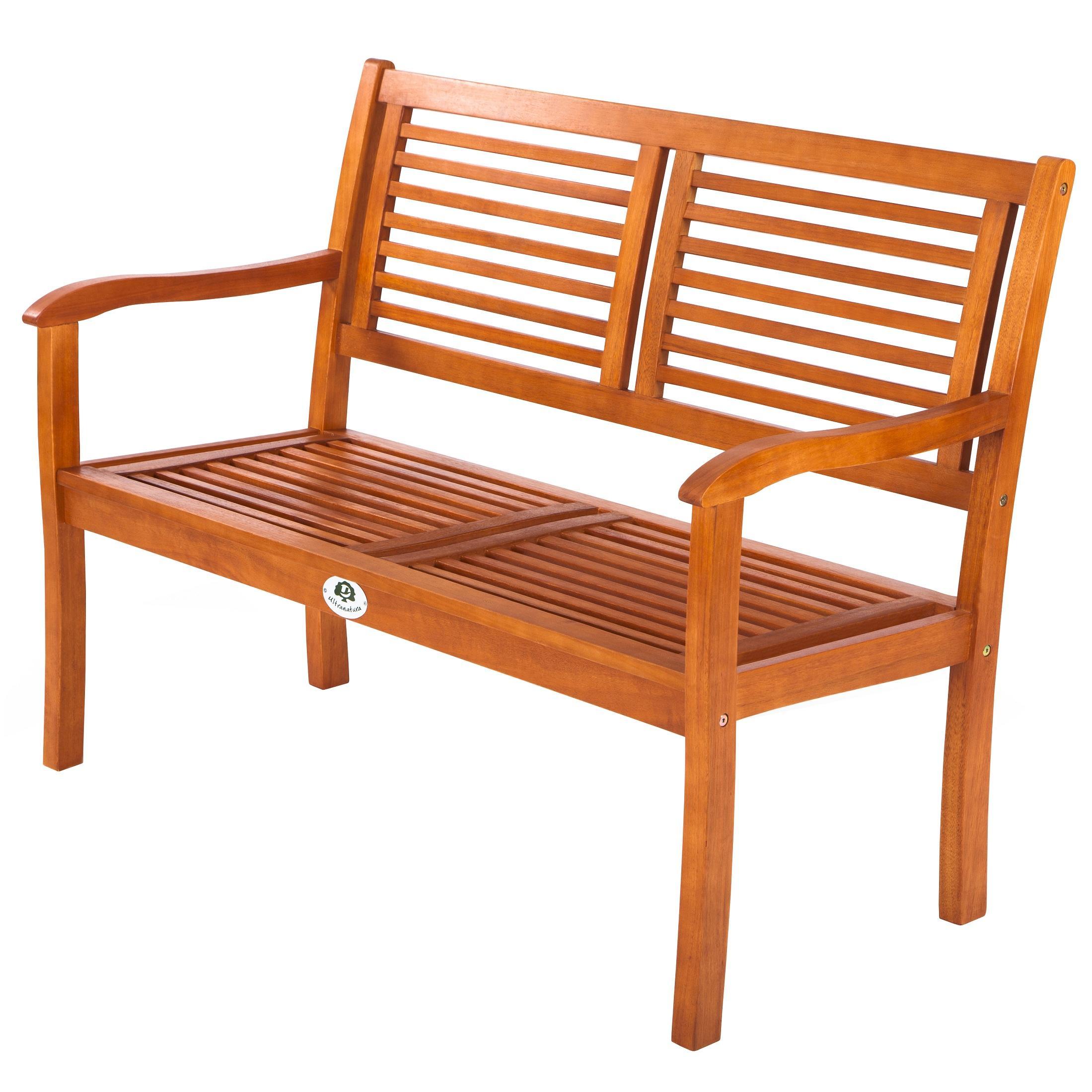 Gartenbank Holz Zertifiziert ~ Ultranatura Gartenbank 2 Sitzer, Canberra Serie  Edles & Hochwertiges