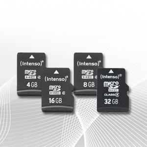 microSDHC Speicherkarte Class 4