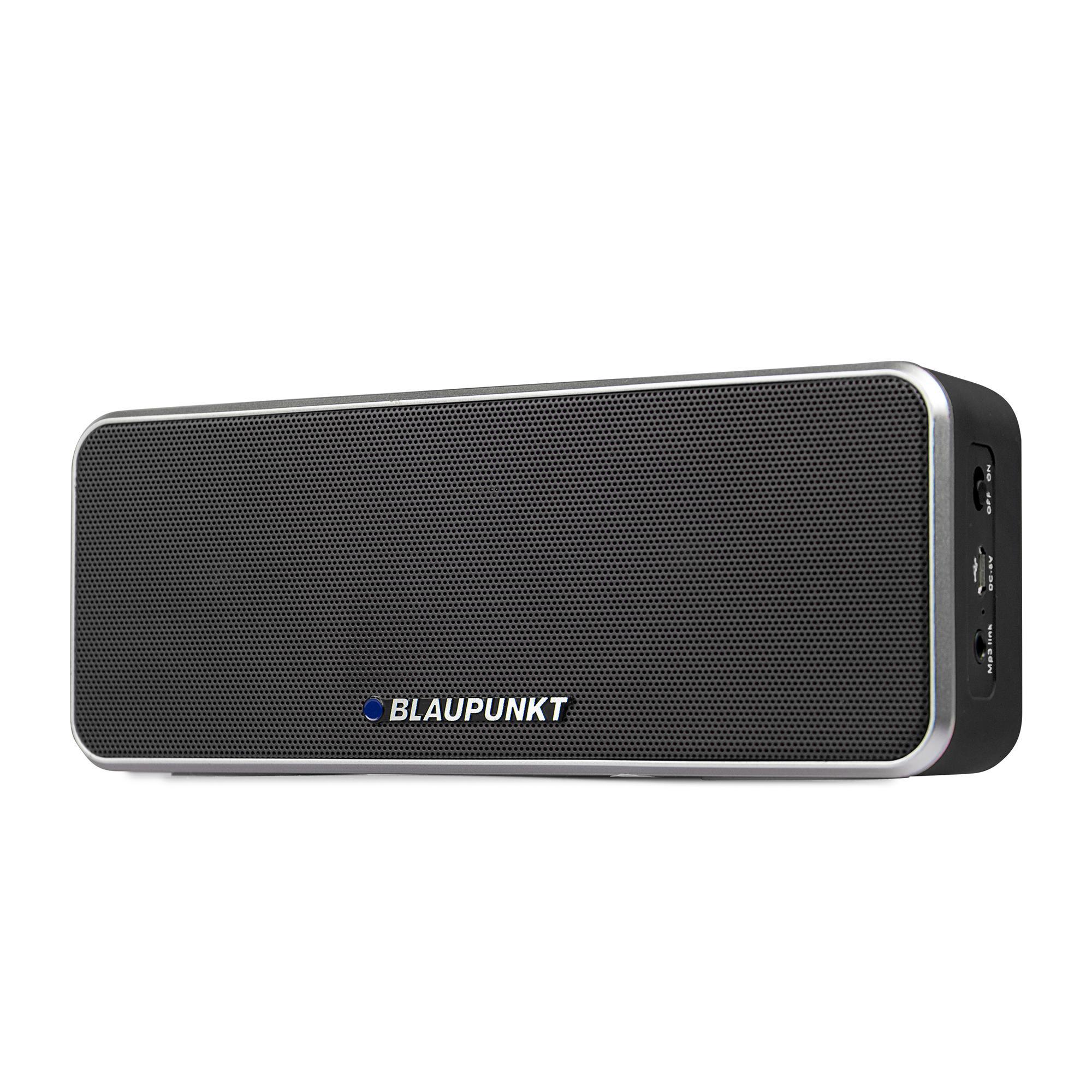 blaupunkt bt 6 bk bluetooth lautsprecher mit mikrofon freisprecheinrichtung eingebauter akku. Black Bedroom Furniture Sets. Home Design Ideas