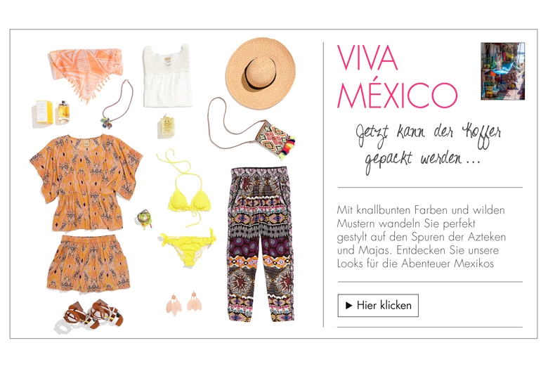 Holiday-Fashion Mexiko für sie
